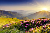 Fototapeta Natura - mountain landscape