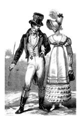 Pair - Mode Empire - beginning 19th century