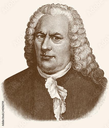 Fotomural  Bach