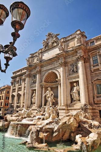 Foto op Plexiglas Rome Roma, Fontana di Trevi