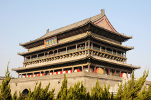 Drum Tower Of Xian China