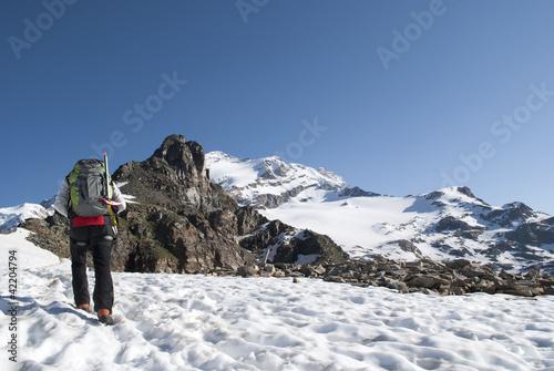 Photo alpinist