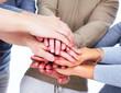 Hands of people.