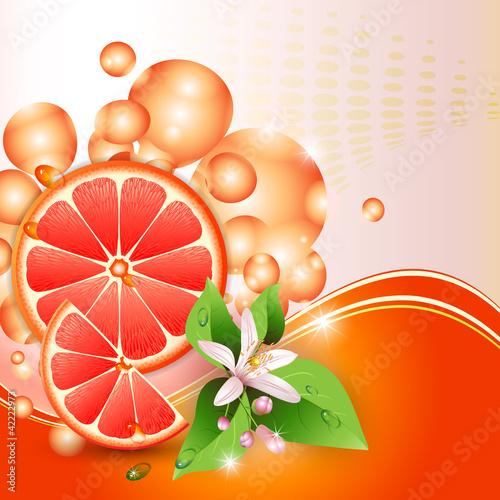 abstrakcjonistyczny-tlo-z-soczystymi-plasterkami-grapefruitowy