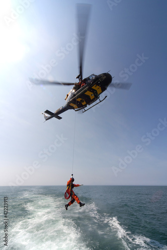 Poster Helicopter Search and Rescue Training