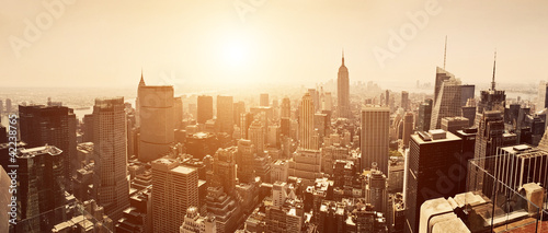 Manhattan Skyline - 42238765