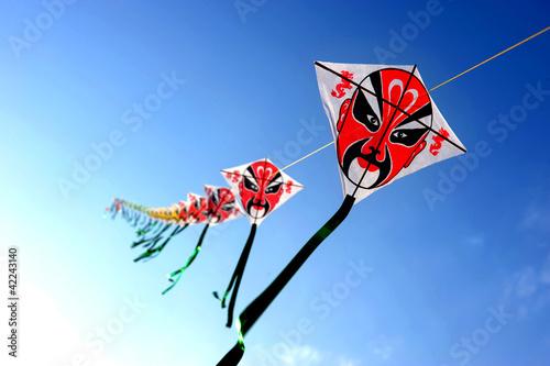 Chinese kite Poster