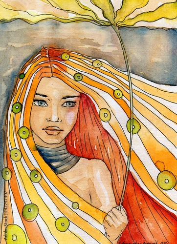 abstrakcyjny-portret-dziewczyny