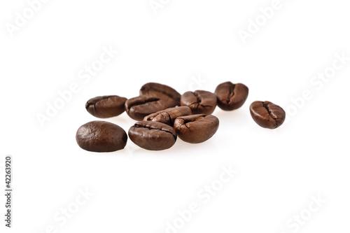 Deurstickers koffiebar Chicchi di grano tostato - arabica