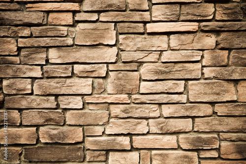 Foto op Plexiglas Wand stone wall background