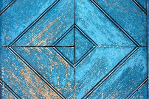 Niebieski wzór