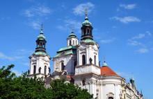Saint Nicholas Church Prague - Famous Sights