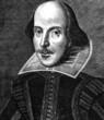 Leinwanddruck Bild - William Shakespeare Engraving