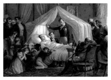 1815 - Napoleon Bonaparte : Death - Mort - Tod