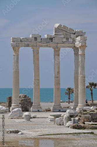 Printed kitchen splashbacks Turkey Apollon-Tempel in Side, Türkei