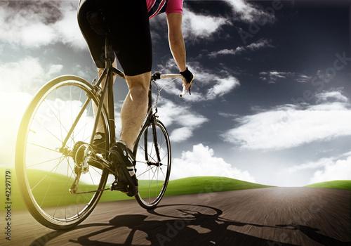 Foto-Stoff bedruckt - Racing Bike (von lassedesignen)