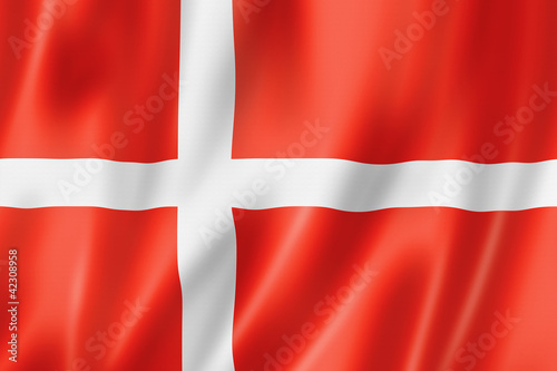Photo  Danish flag