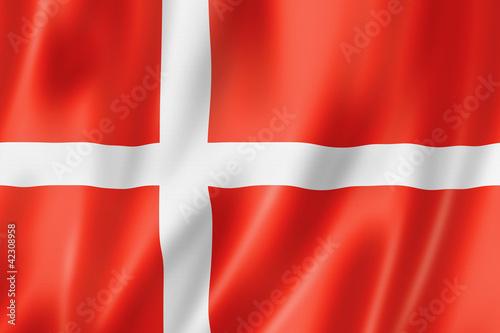 Danish flag Wallpaper Mural