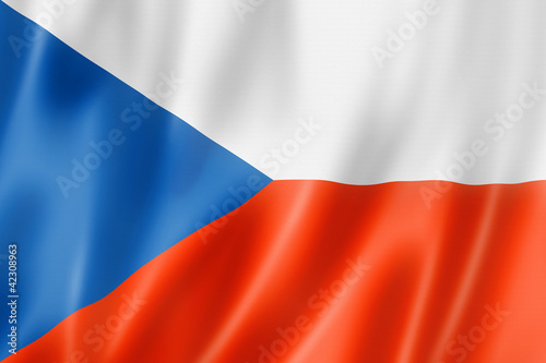 Photo  Czech flag