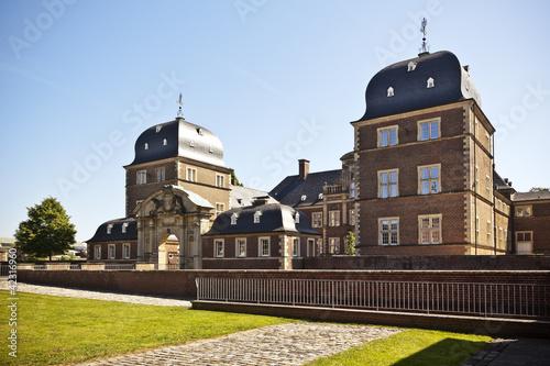 Foto auf AluDibond Schloss Schloss Ahaus, Münsterland