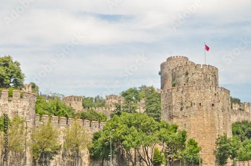 Photo  Rumeli Castle in Istanbul