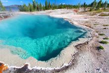 Black Pool Yellowstone National Park