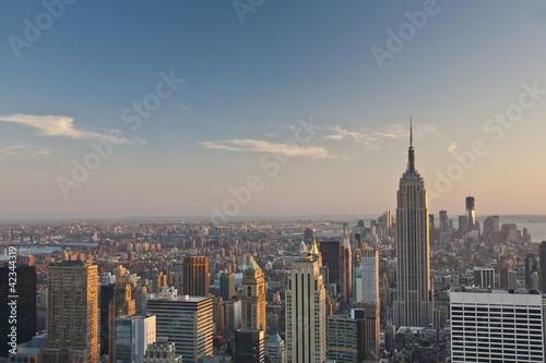 Poster New York New York - Skyline