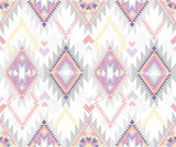 Abstract geometric seamless aztec pattern. - 42345548