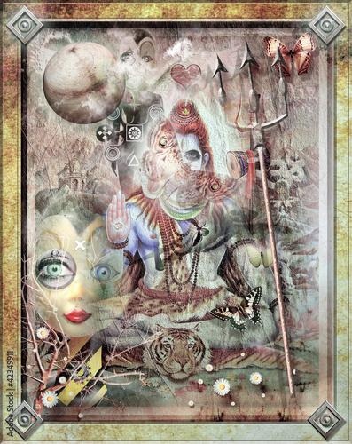 In de dag Imagination Doll sacred
