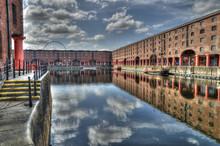 Albert Dock, Liverpool, UK.