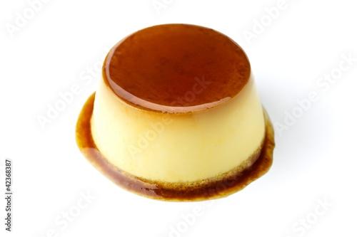 Photo Custard pudding