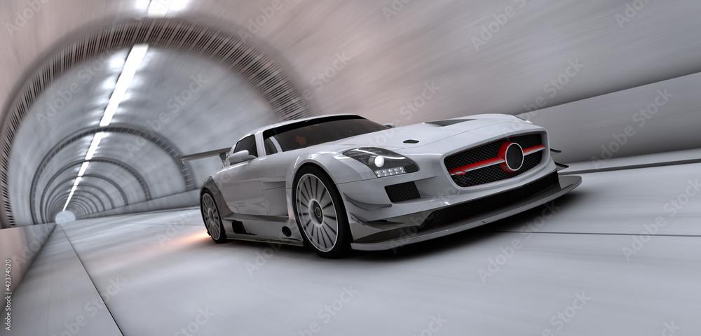 Fotografia, Obraz  tunnel racer