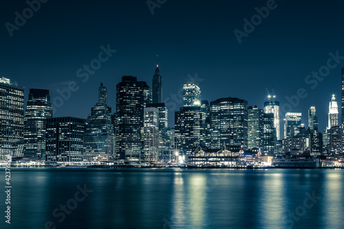 Photo sur Aluminium New York New York skyline
