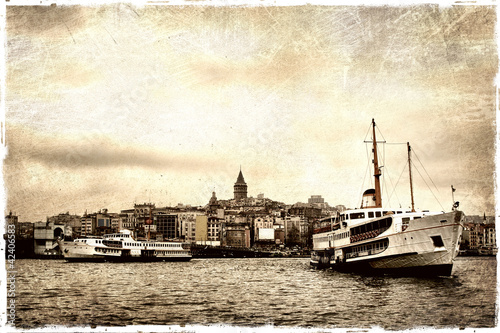 Ferry Boat Istanbul Poster