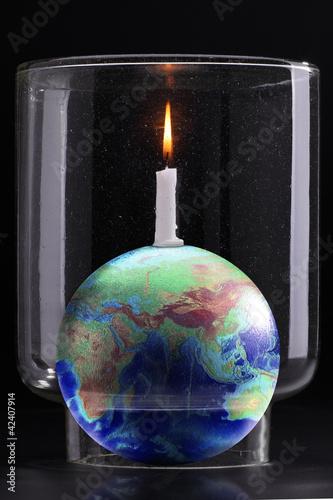 Plakaty ziemia efekt-globalnego-ocieplenia
