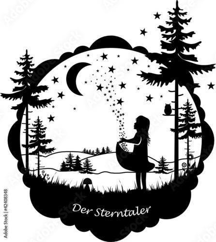 Sterntaler Märchen - 42408348