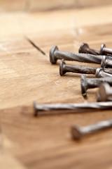 nails shot up close