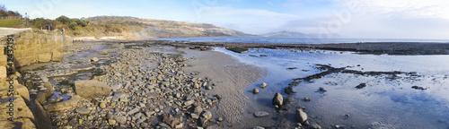 jurassic coast lyme regis dorset uk Canvas Print