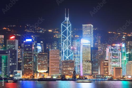 Tuinposter China Hong Kong Victoria Harbour