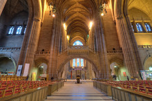 Liverpool Cathedral Interior, ...
