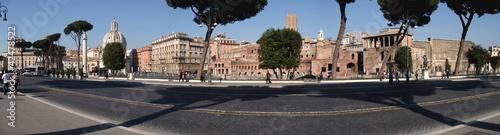 panorama rome Canvas Print