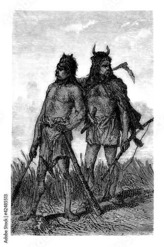 Fotografering Ancient Gallic Warriors - Gaulois