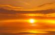 Abstract Sunset at Sea
