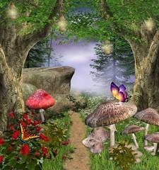 Enchanted nature series - enchanted pathway