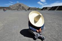 Mexican Man Having Siesta