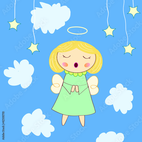 Poster Ciel little angel greeting card