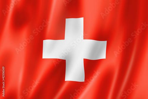 Fotografie, Obraz  Swiss flag