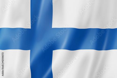 Fotografie, Obraz  Finnish flag