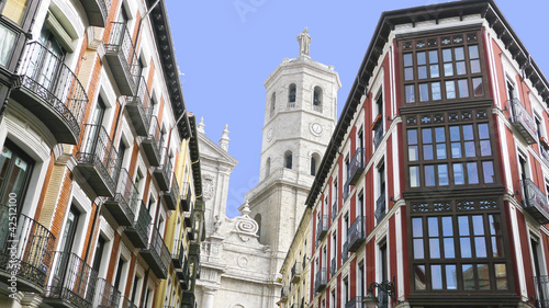 Valladolid, historic and cultural city, Spain.