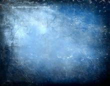 Grunge Texture Blu